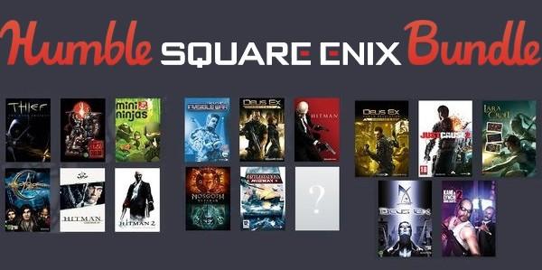 Square Enix sur Humble Bundle