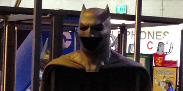 Batman v Superman : Ben Affleck porte le masque