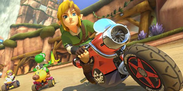 Jouer Link et bien d'autres dans Mario Kart 8