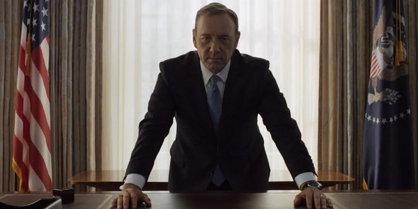 House of Cards prend possession d'Air Force One