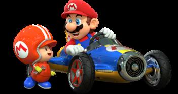 Mario kart 8 appuie sur le champignon