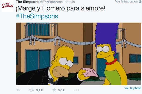 Homer et Marge ne divorcent plus