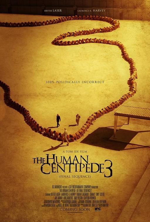 Human Centipede 3 s'affiche dans le trash !