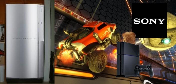 Rocket League toast les composantes PS4, gratuitement
