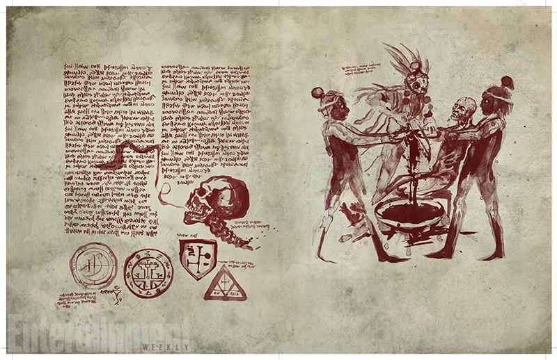 Premier look du Livre des Morts d'Ash vs Evil Dead !