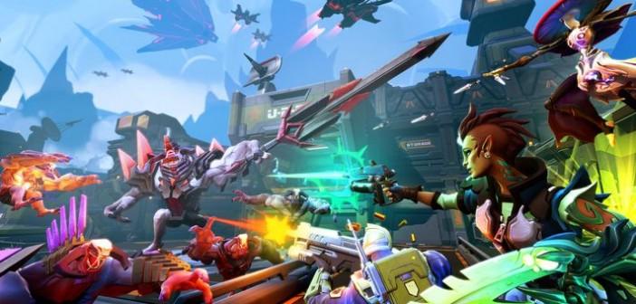 Battleborn une vidéo, 4 héros et une beta !
