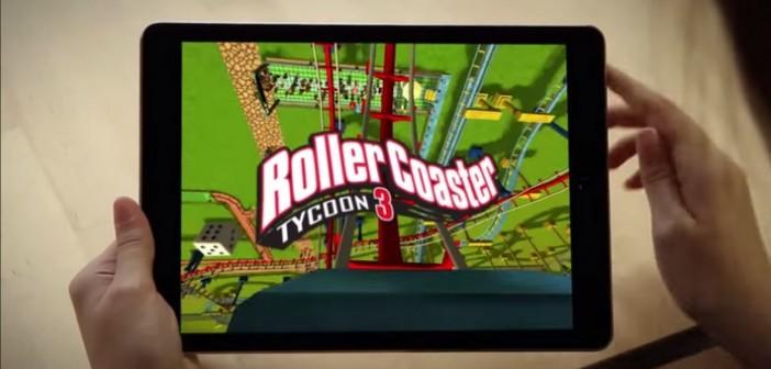 RollerCoaster Tycoon 3 : le portage IOS disponible