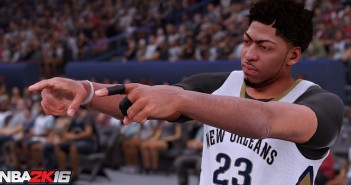 NBA 2K16, encore une vidéo !