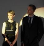 Mia Wasikowska et Tom Hiddleston à lavant-première Crimson Peak