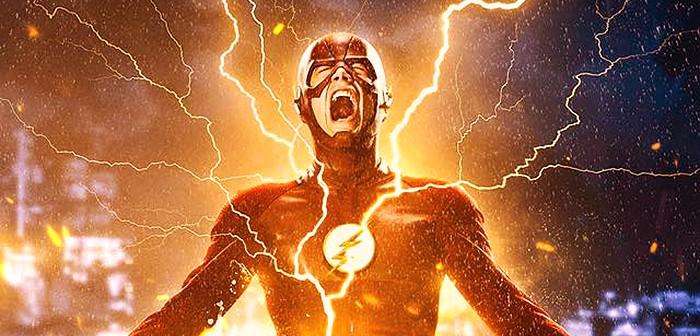 Flash s'échauffe pour le poster de la saison 2 !