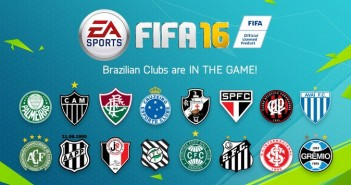 Les équipes brésiliennes rejoignent Fifa 16 !