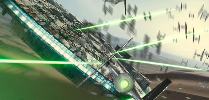 L'affiche de Star Wars: The Force Awakens est arrivée!