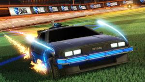 Rocket Ligue : munissez-vous de la DeLorean !