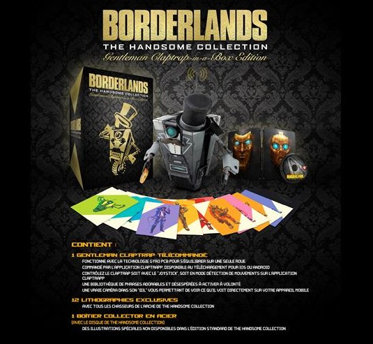 Borderlands: The Handsome Collection, Sir Clap Trap en boîte !