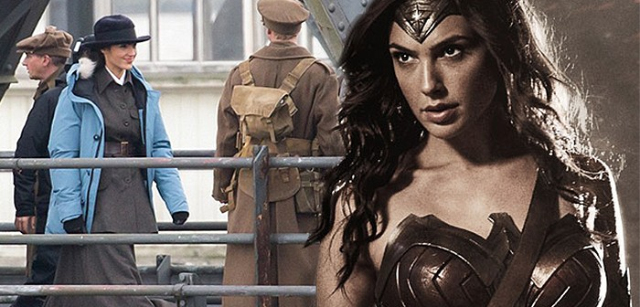Des images de Wonder Woman en pleine Grande Guerre !