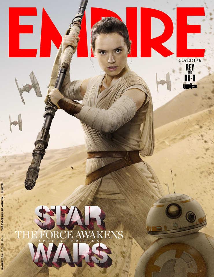 Les personnages de Star Wars font les Unes d'Empire !