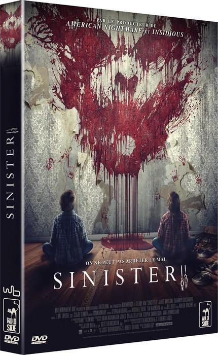 3D DVD SINISTER 2