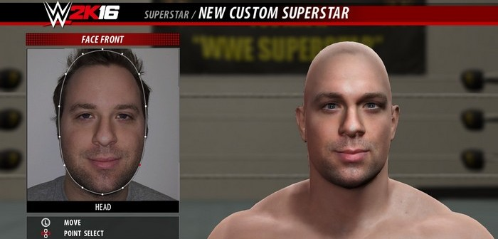 Creation Studio de WWE 2K16 maintenant en ligne