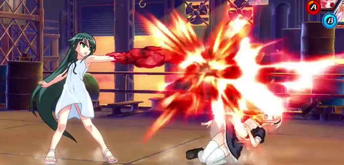 Nitroplus Blasterz: Heroines Infinite Duel sort ses héroïnes en Europe