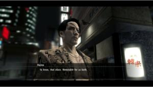 Yakuza 5 des personnages secondaires musclés_