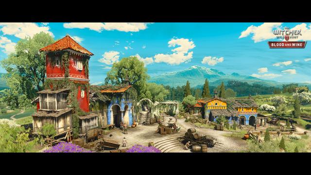 Deux nouvelles images pour le DLC Blood and Wine de The Witcher III !