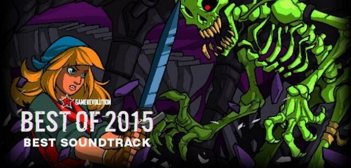 Crypt of the NecroDancer remporte le Best Soundtrack Award 2015 !