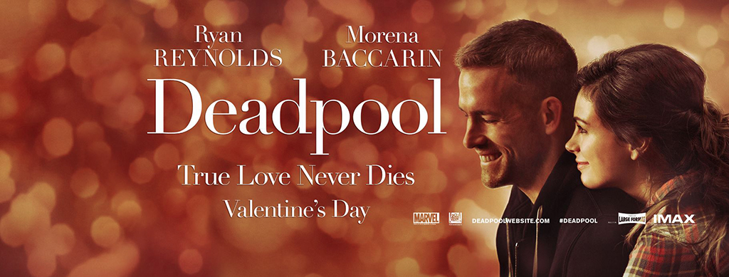 Deadpool se la joue comédie romantique pour la Saint Valentin !