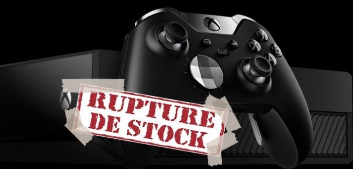 La Manette Xbox One Elite : jugée trop cher, mais en rupture de stock