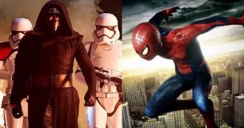 Star Wars VIII Spider Man