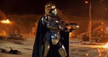 Le capitaine Phasma présent au casting de Star Wars VIII ?