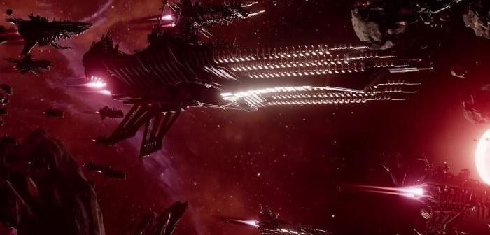 Battlefleet Gothic découvrez les assauts de la flotte du Chaos !