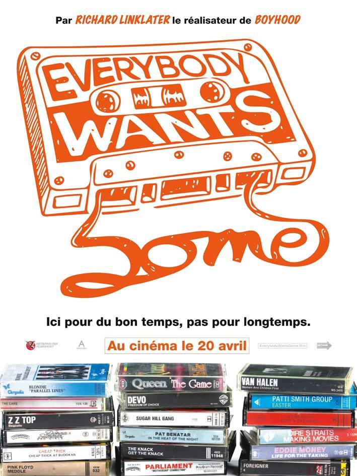 Everybody Wants some affiche
