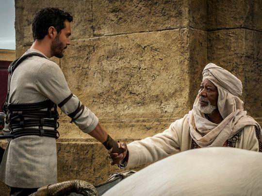 Ben-Hur dévoile ses premiers clichés de Jake Huston !