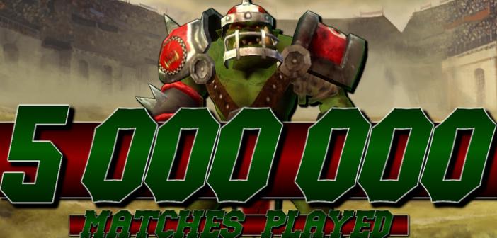 Cyanide fête les 5M de matches joués sur Blood Bowl Kerrunch !