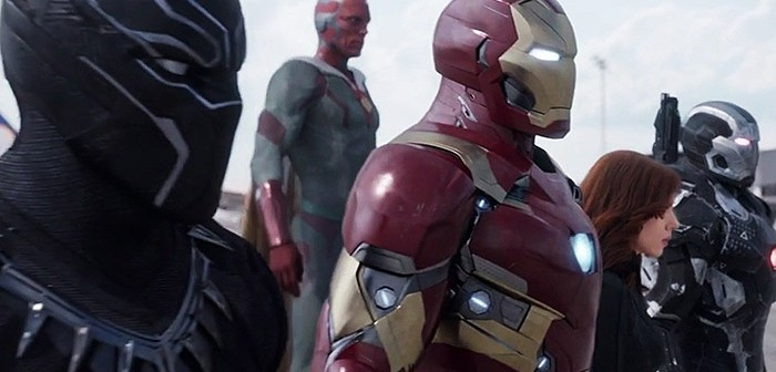 Iron Man dévoile les portraits de sa team pour Civil War !