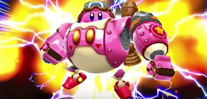 Kirby Planet Robobot bientôt sur 3DS avec 4 Amiibo !