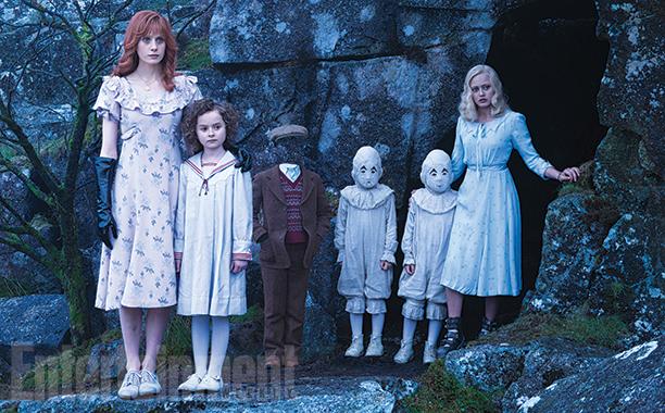 Les premières photos de Miss Peregrine dévoilée !