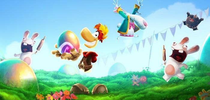 Pour Pâques, les Lapins crétins partent à l'assaut de Rayman Adventures