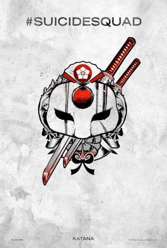 Suicide Squad dévoile ses posters en tatouages !
