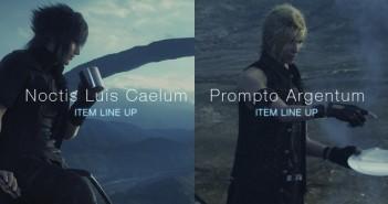Final Fantasy XV devenez fashion comme Noctis et Prompto !