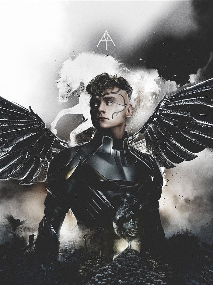 Les Cavaliers de X-Men Apocalypse prennent la pose !4