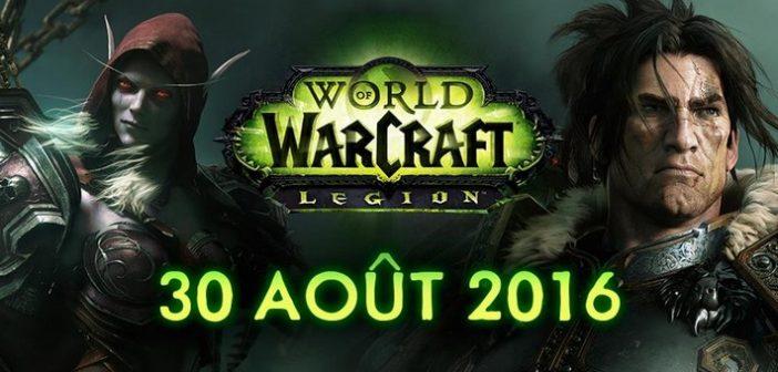 World of Warcraft Legion débarque le 30 août !