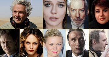 Paradis, Dunst et Mikkelsen dans le jury de Cannes 2016