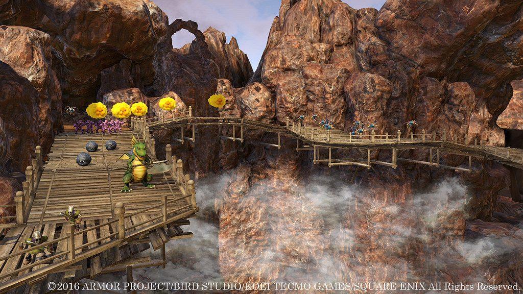 Une pléthore d'images pour Dragon Quest Heroes II !