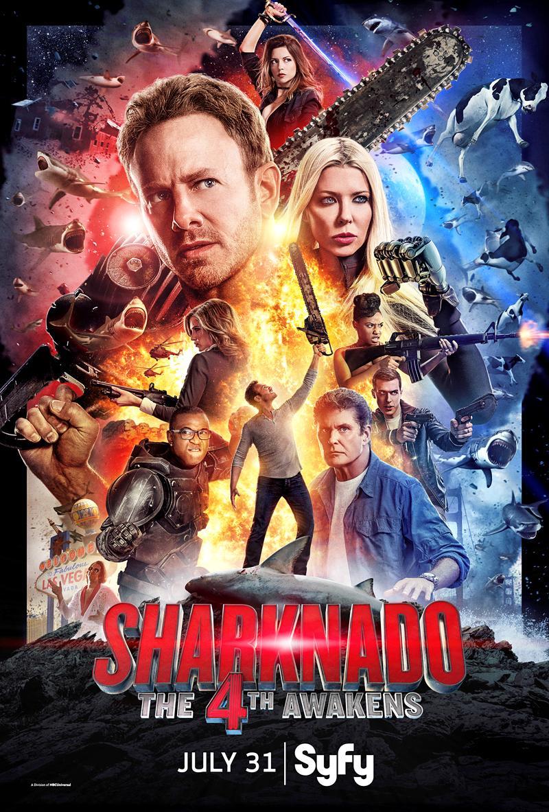 Sharknado 4, un Star Wars à la mer !