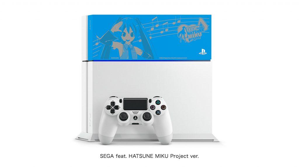 Des Playstation 4 Hatsune Miku collectors au Japon !