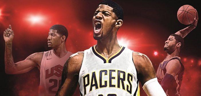 Paul George sera la Superstar NBA 2K17 !