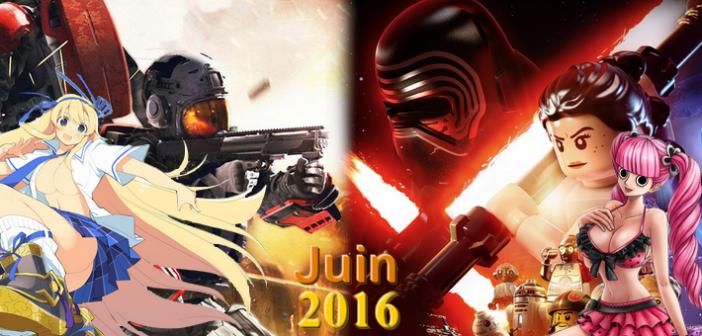 Jeux vidéo : quoi de beau en juin 2016 ?