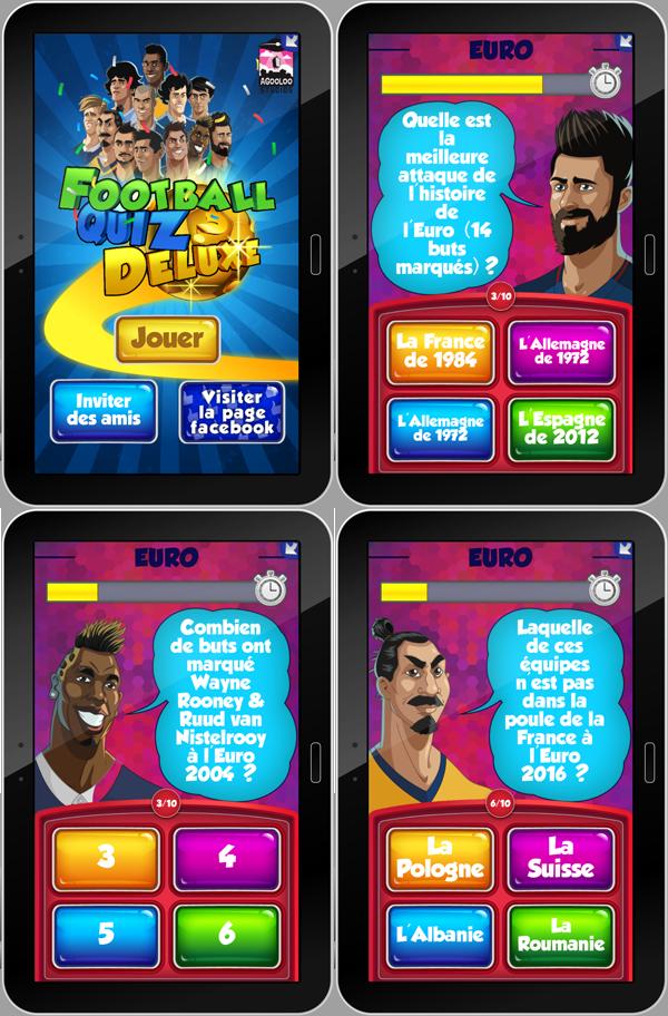 Incollables sur le foot Football Quiz Deluxe vous défit !_ScreenShots