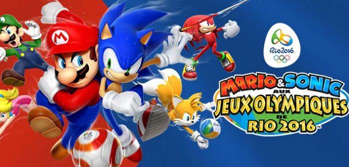 [Test] Mario & Sonic aux Jeux Olympiques de Rio 2016, en piste!